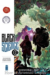 Actualización 02/09/2016: Gracias a los tradumaquetadores Heisenberg & CKEIMEL les presentamos en exclusiva para el blog el numero 17 de Black Science. ¡NUEVO arco argumental! ¡Una nueva era en la ciencia negra comienza! ¡Nuevo arco! ¡Nueva dirección! ¡Nuevos lectores: únanse a los Dimensionautas en un viaje psicodélico del alma!