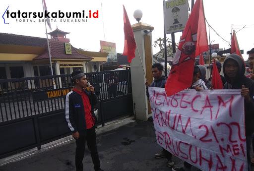 GMNI Sukabumi Kecam Aksi Kerusuhan 21-22 Mei di Jakarta, Abdullah : Tindak Tegas Pelaku Kerusuhan
