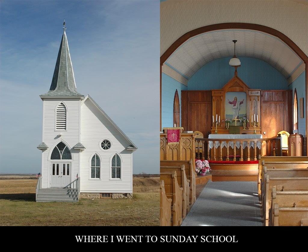 """Rural Church in North Dakota"" by Sheldon Thompson -- 1st Place Digital Special B"