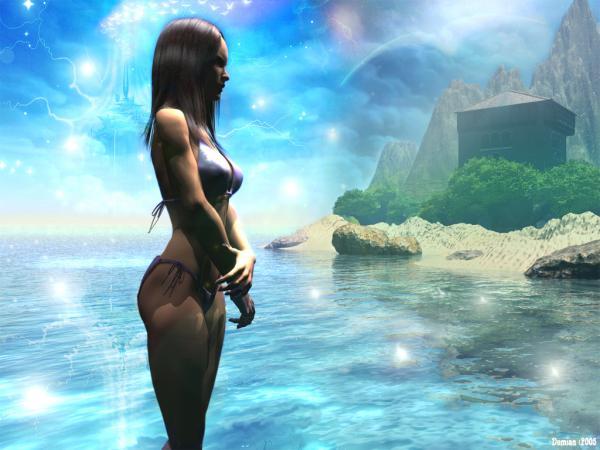 Magick Landscape Of Dream 5, Magical Landscapes 3