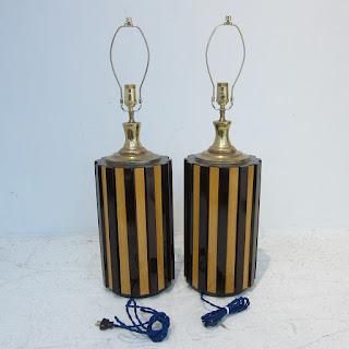 Brazilian Mid-Century Table Lamp Pair