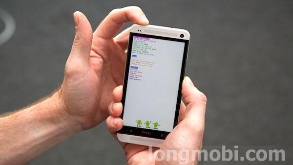 phá mật khẩu máy HTC android