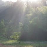 Lever de soleil sur les Carbets de Coralie (Crique Yaoni), 31 octobre 2012. Photo : J.-M. Gayman