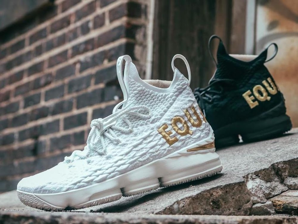 promo code be241 a0aeb Someone Has Actually Completed the Nike LeBron 15 'Equality ...