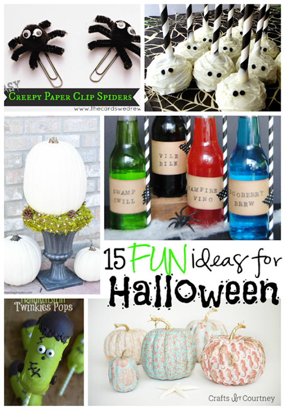 15 Fun Ideas for Halloween at GingerSnapCrafts.com #Halloween #linkparty #features_thumb[2]