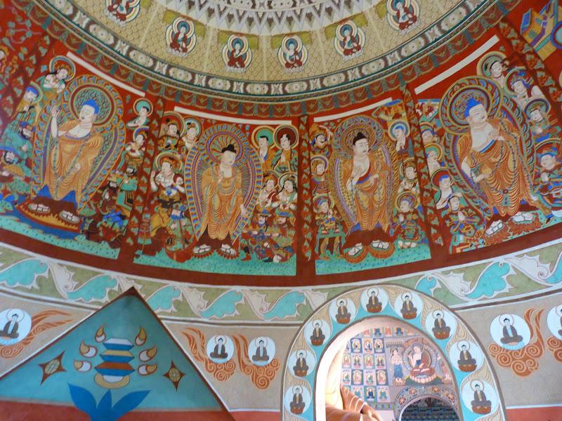 XINJIANG.  Turpan. Ancient city of Jiaohe, Flaming Mountains, Karez, Bezelik Thousand Budda caves - P1270943.JPG
