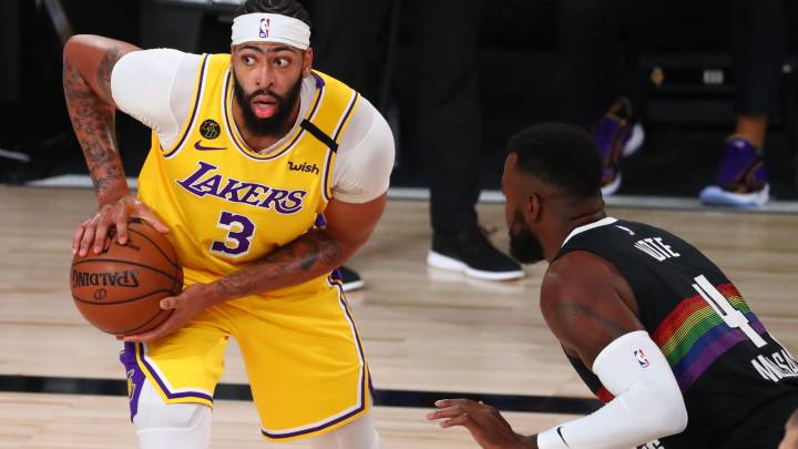 Anthony Davis decide una batalla y los Lakers ya acarician la final