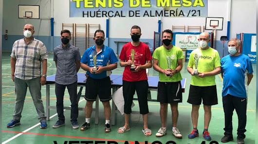El Campeonato de Almería de tenis de mesa vuelve en Huércal