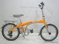 1 Sepeda Lipat EVERGREEN EG220-4 20 Inci