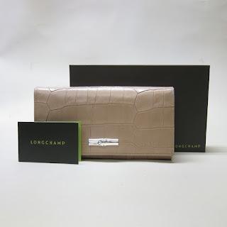 Longchamp Embossed Wallet