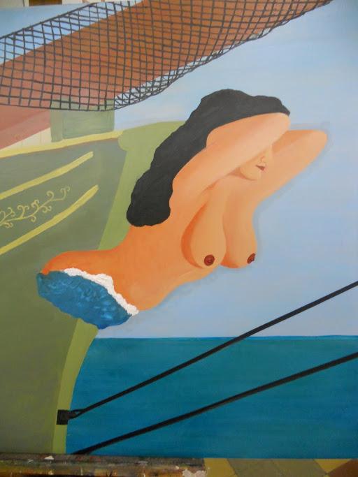 hobby peinture - Peinture maritime : nouveau hobby ? Figure%2Bde%2Bproue%2Bbrunette