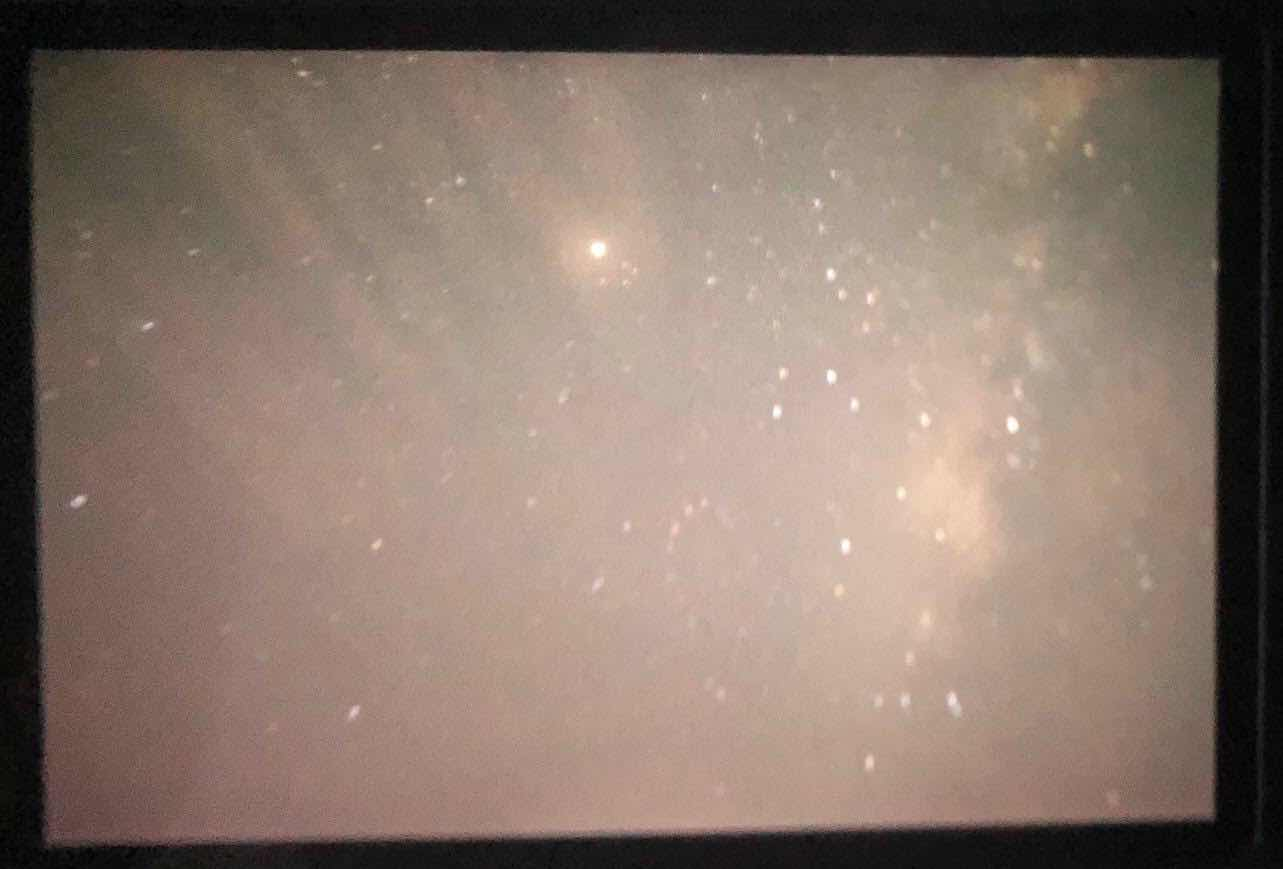 First image of Milky Way from our cruise ship (Source: Palmia Observatory