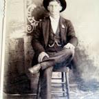 David Gleaves, McCloud, Oklahoma Territory, brother of Emilia Field Gleaves Thompson