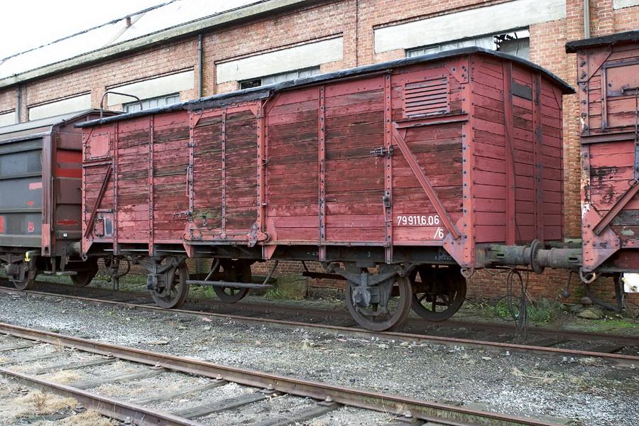 Gklm Gesloten goederenwagen St Ghislain TSP 2003-12-13