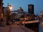 Downtown Rochester and the Mary Jemison