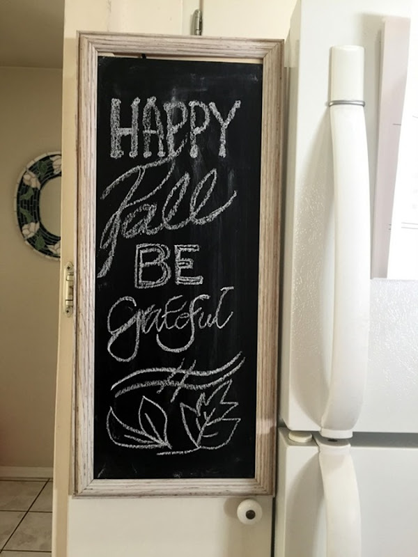 Friday High Five - Fall Chalkboard via homework (4)
