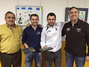 DAVID MORENO GRACIA y DANIEL ARQUÉ ACERO, Campeones del TROFEO DE MUS REYES 2.016