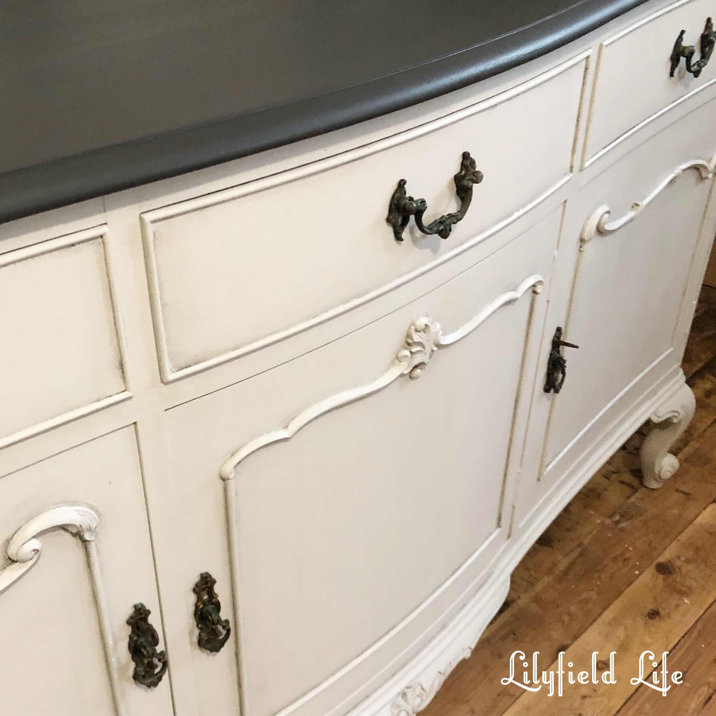 hand painted French sideboard Lilyfield Life