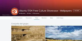 Colaborar con la cultura libre a través del Ubuntu Free Culture Showcase. Principal.