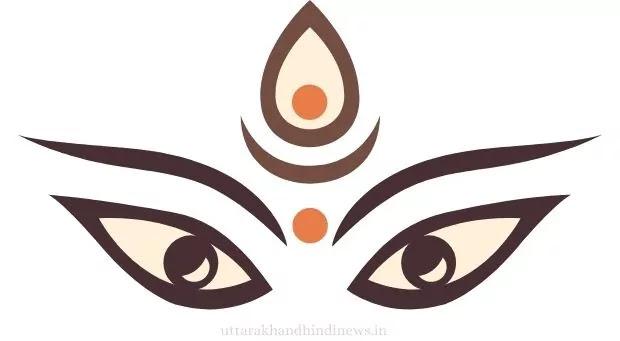 Navratri 2021 Maa Durga Eyes Image