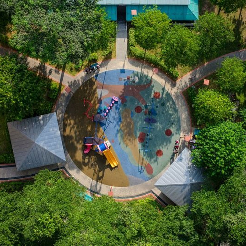 Singapore's Playgrounds From Above
