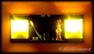Luminária Moderna - Painel Parede - 07