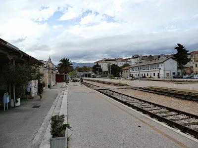 am Bahnhof von Split