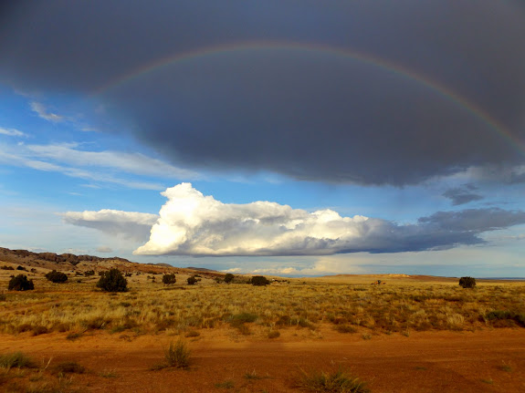 Rainbow north of camp