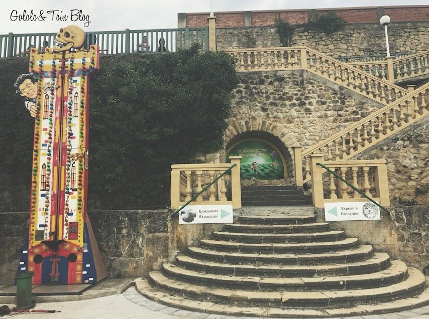 Parque de Atracciones de Monte Igueldo en San Sebastíán