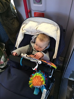 baby train journey