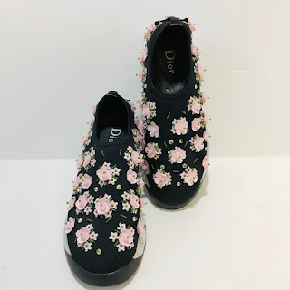 Dior Fusion Floral Sneakers