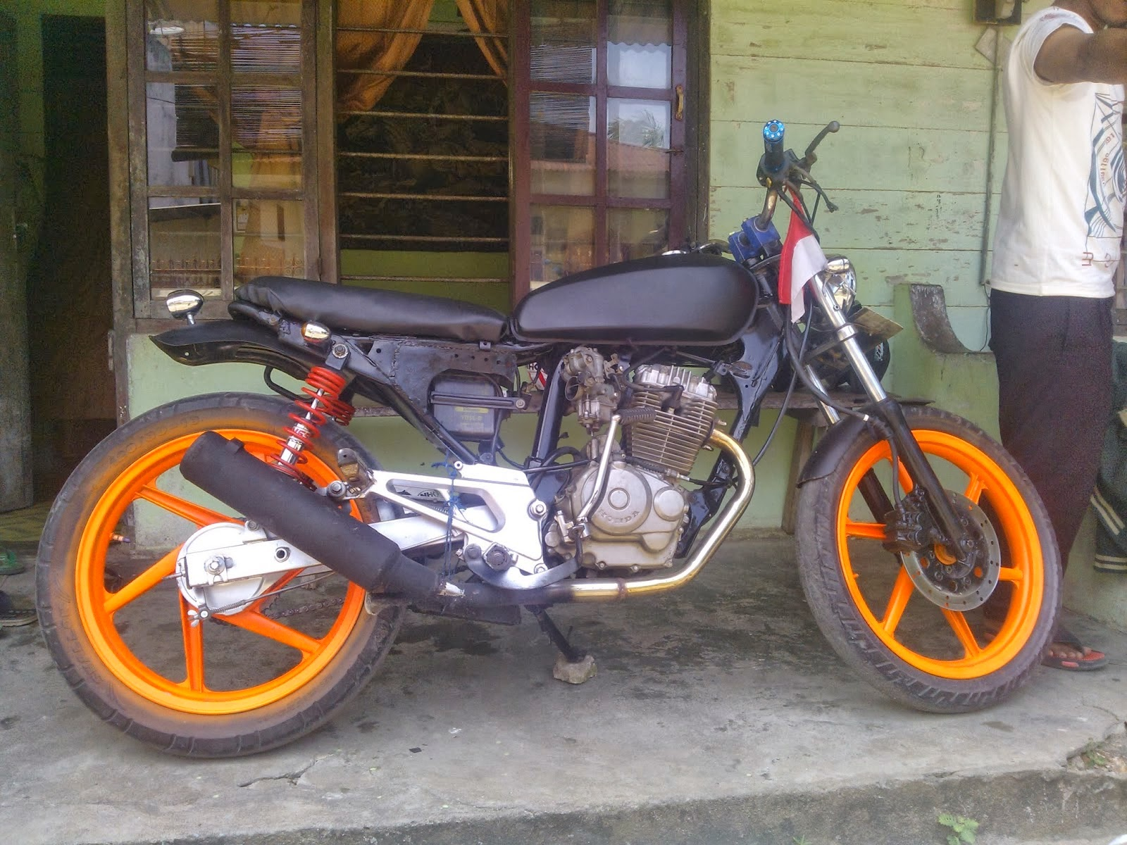 Honda Tiger Modifikasi Japstyle