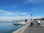 Walking along Marina Blvd back towards Fisherman's Wharf