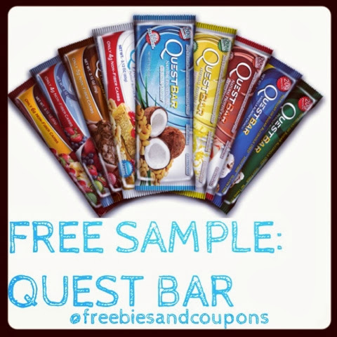 The 2 FREE Quest Protein Bars enter your email, select the flavor you want, and fill out the form *Please allow weeks for delivery. First 10, FREE Sample Box From PINCHMe Live on 12/4 at Noon EST! FREE Exclusive Bandana; FREE Olay Whips, Eye Gel & Cleansing Cloths Samples!