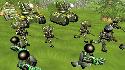 Stickman Tank Battle Simulator 1.06 screenshots 5