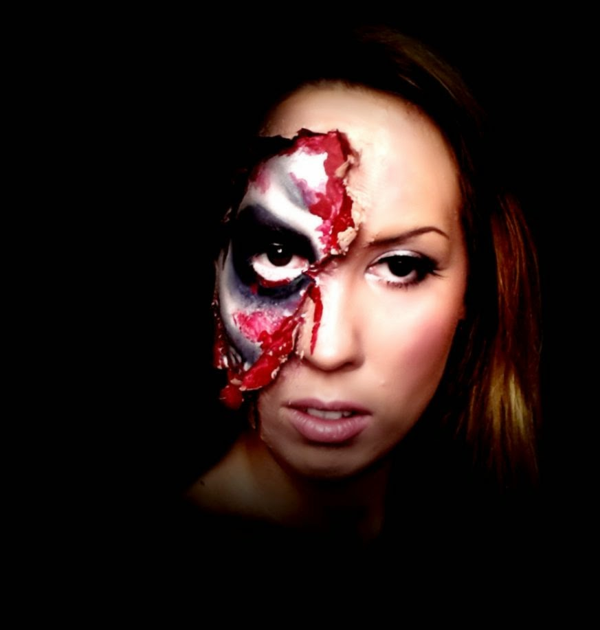 DeviantArt More Artists Like Skin Peeled off Makeup for Halloween
