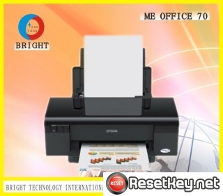 Reset Epson ME-70 printer Waste Ink Pads Counter