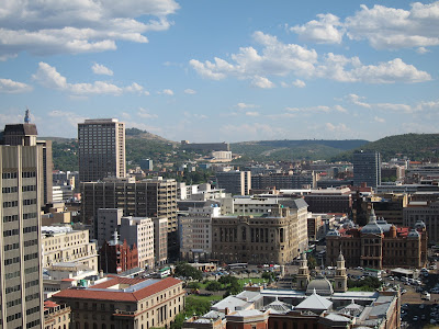 South Africa Pretoria cityscape