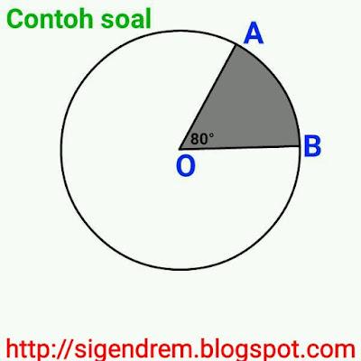 Hubungan Sudut Pusat, Panjang Busur, Dan Luas Juring