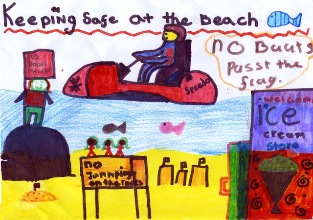 Sea safety poster - Sophie