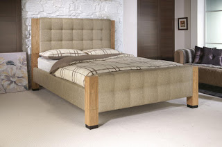 Cute LB bed frame material u Oak wood available