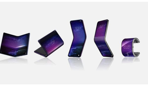 TCL's folding phone projects include a watch-like bracelet