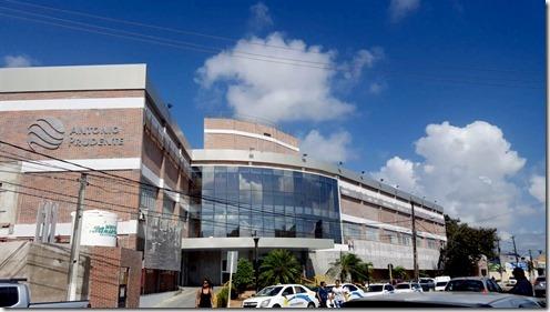 Hospital Antonio Prudente ganha nova fachada