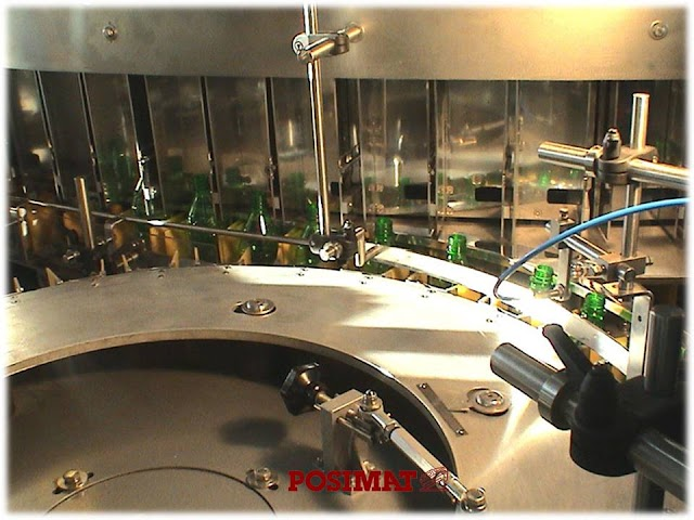 Multichute Bottle Unscrambler For beverage industry