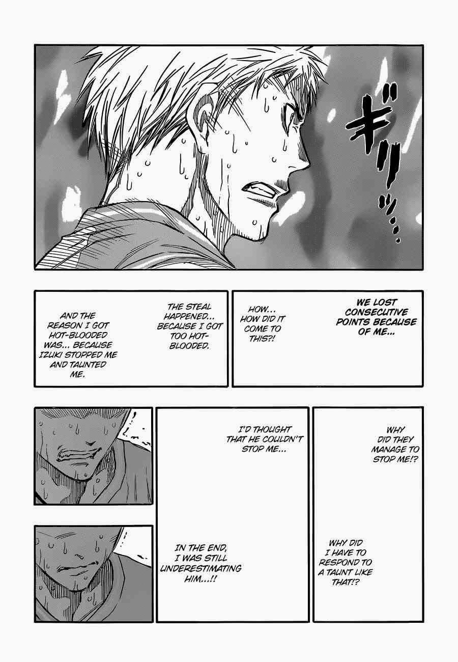 Kuroko no Basket Manga Chapter 255 - Image 03