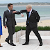 WATCH: Vaccinated G7 Leaders Share Awkward Unmasked Elbow Bumps