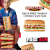 Free Medium Chicken Gyro Sub from Firehouse Subs