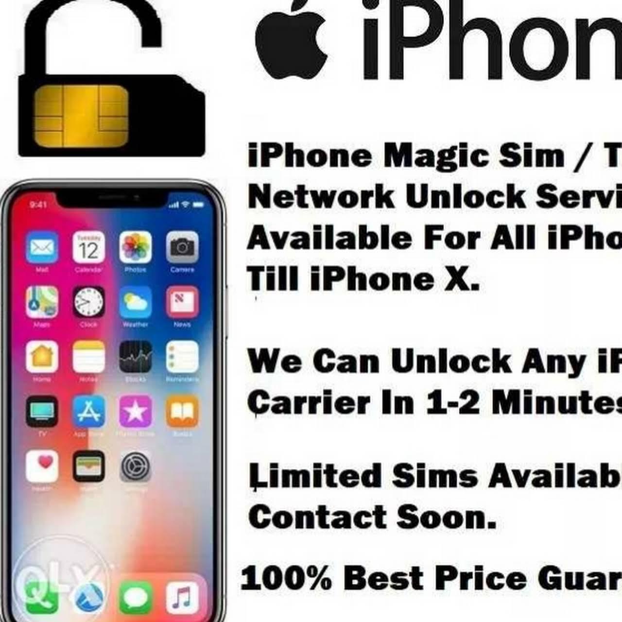 iPhone Network Unlock & Repair & Screen Replacement Services