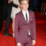 WWW.ENTSIMAGES.COM -    Joe Sugg    at      The Hunger Games - Mockingjay - part 1 - UK film premiere at Odeon Leicester Square, London November 10th 2014Premiere of latest film in the Hunger Games franchise, which this time sees Katniss lead a rebellion against the tyrannical and corrupt Capitol.                                              Photo Mobis Photos/OIC 0203 174 1069