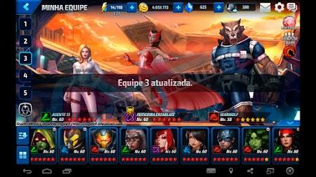 Feiticeira Escarlate no Marvel Future Fight
